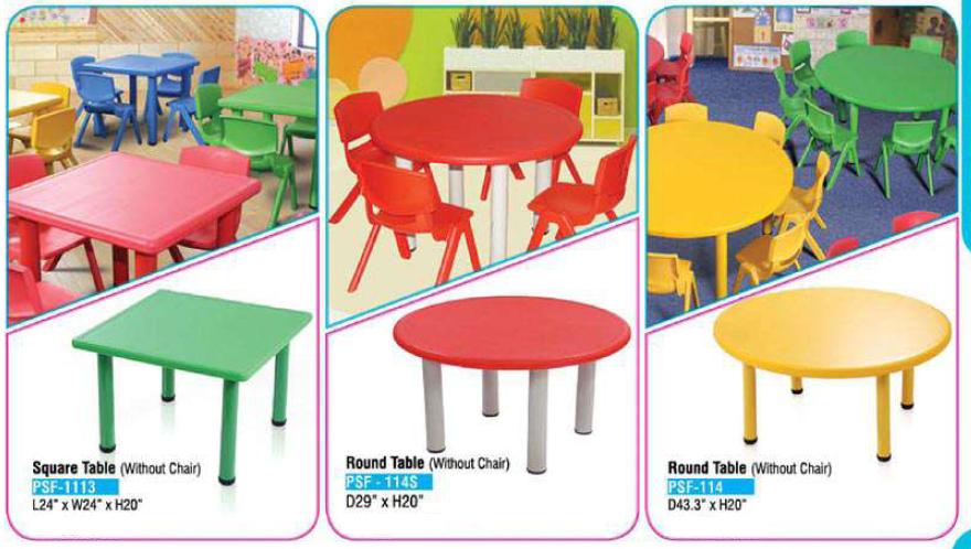 Kindergarten Furniture, Kids School Furniture, Play School